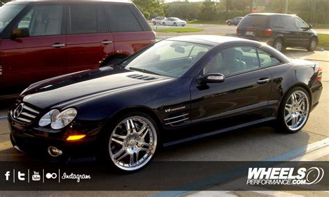 Our Client's Mercedes Sl55 Amg With 20