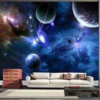 lovely space wall mural Details about Universe Planet Space Full Wall Mural Print Decal Wallpaper Home Deco DIY Indoor ...