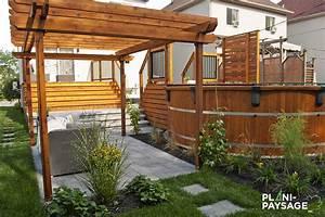Aménagement Cour Extérieur : petite cour avec piscine hors terre ~ Melissatoandfro.com Idées de Décoration
