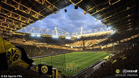 Borussia Dortmund's Signal Iduna Park returns to FIFA 19 ...