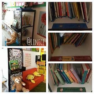 Presentoir Livre Ikea : mon coin biblioth que cosi et organis avec des gommettes par th me une tag re pices ikea ~ Teatrodelosmanantiales.com Idées de Décoration