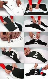 25 pirate costumes and diy ideas 2017 With diy pirate hat template