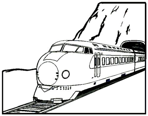 train coloring pages coloringpagescom