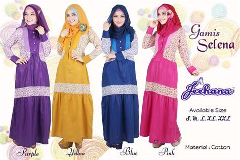 Ulasan Produk Gamis Remaja Selena  Dress Hijab Baju