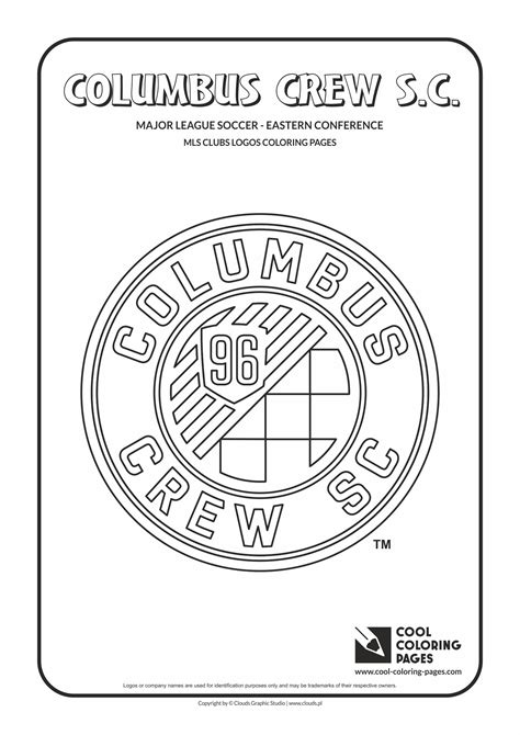 Cool Coloring Pages MLS soccer clubs logos coloring pages ...