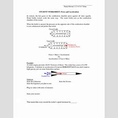 6 Best Images Of Speed And Velocity Worksheets With Answers  Speed And Velocity Worksheets