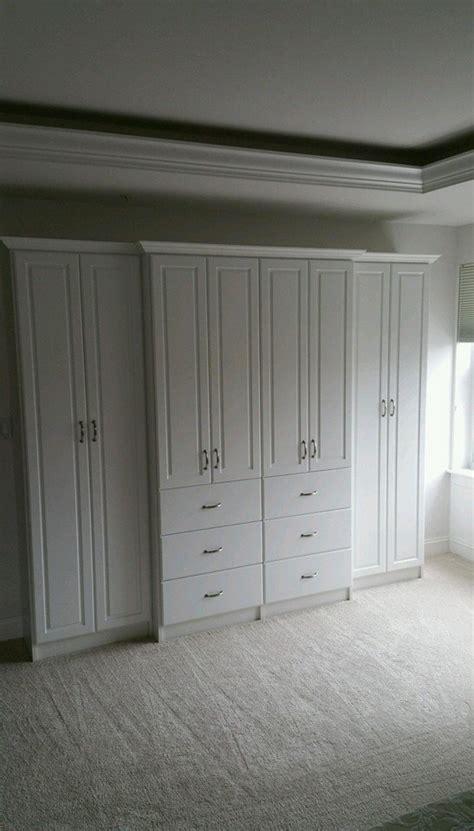 Wardrobe Units For Bedroom by Master Bedroom Wardrobe Unit Chesapeake Closets