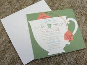 bridal shower registries bridal shower tea party cup invitation by littlebopress on