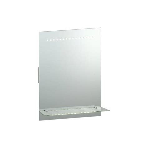 Bathroom Mirrors With Lights And Shelf by Endon Lighting Omega Led Illuminated Bathroom Mirror With