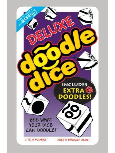 deluxe doodle dice game  creative kidstuff family