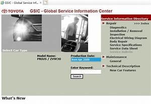 Toyota Prius  Zvw30  Service Repair Manual  U0026 Ewd  2009