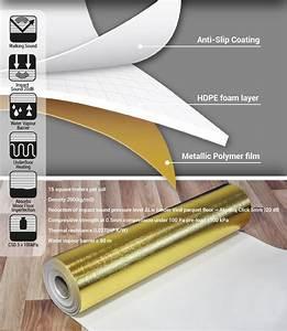 Unterlage Für Vinylboden : 15 m luxus vinyl unterlage 1 mm f r vinyl laminat und parkettb den ~ Watch28wear.com Haus und Dekorationen