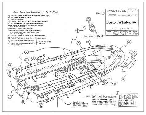 Parts Of A Wood Boat by Classic Whaler Boston Whaler Reference Available Drawings