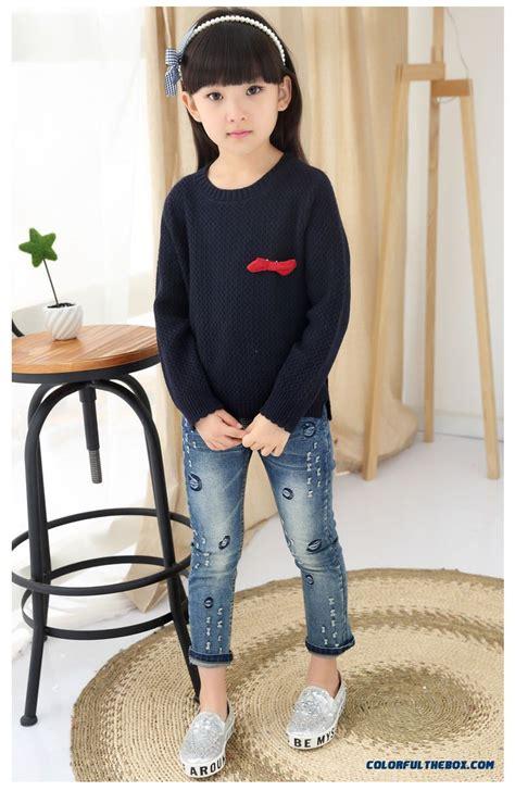 Cheap Kids Clothing 2016 Spring New Sweater Girls Big Kids