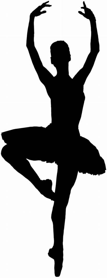 Ballerina Silhouette Ballet Clipart Dancer Dance Danseuse