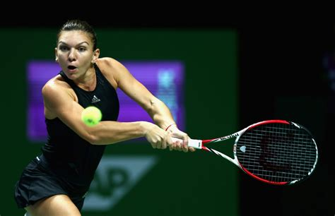 Simona Halep WTA Tennis Player