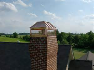 Custom Copper Chimney Caps