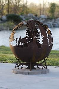 Up North Fire Pit Sphere