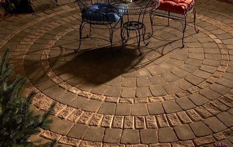 Round Patio Pavers Kit   American HWY