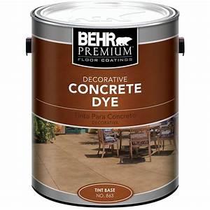 BEHR 1 gal Tint Base Concrete Dye-86301 - The Home Depot