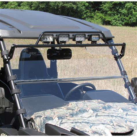 john deere gator light bar versashield quot 3 in 1 quot acrylic windshield for mid size john