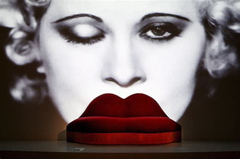 black acrylic salvador dal 237 mae west lips sofa