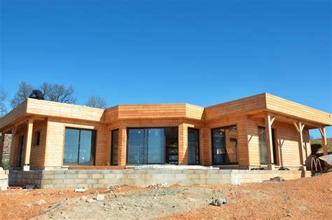 maison bois en kit tarif prix et tarif fondation maison ossature bois boismaison