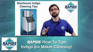 Manitowoc Indigo Ice Maker Cleaning  How