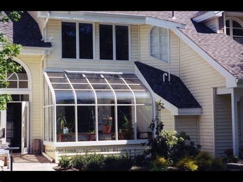 aluminium lean  sunroom design ideas youtube