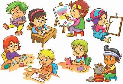 Cartoon Activity Clipart Fun Background Activities Library