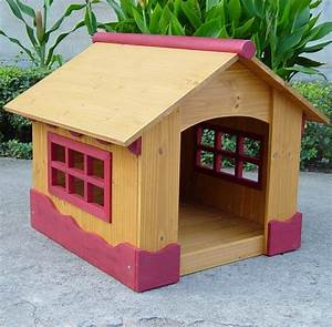 Cute dog house design plans new home plans design for Cool dog kennel designs