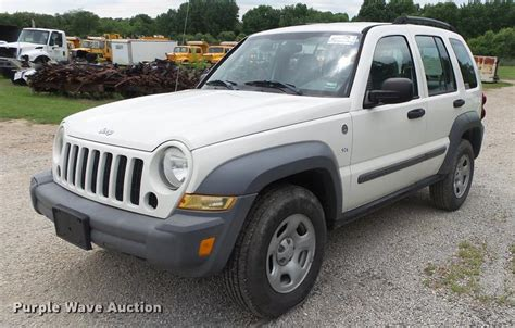 purple jeep liberty vehicles and equipment auction in springfield missouri by