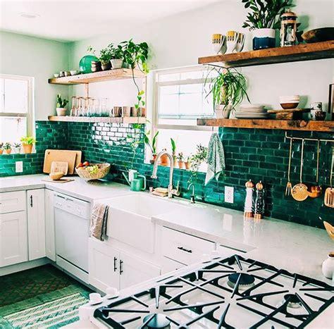 23+ Charming Modern Boho Chic Kitchen