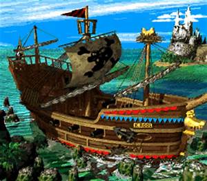 Image - Gangplank Galleon Map (Donkey Kong Country 2).png ...