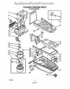 Parts For Whirlpool Fc5000xm1  Section Parts