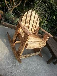 Burnt, Wood, Effects, Pallets, Outdoor, Chair