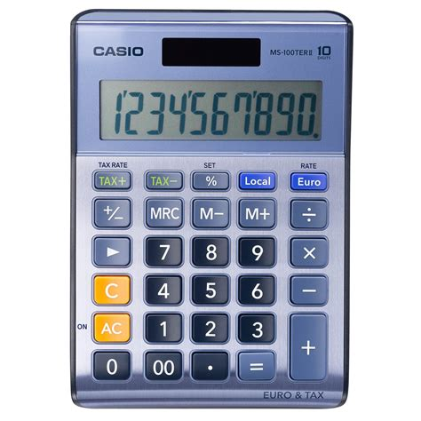 calculatrice bureau calculatrice de bureau casio ms 100 ter 10 chiffres