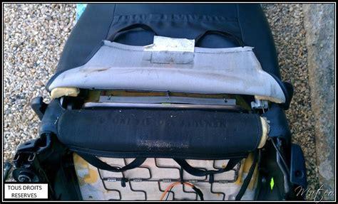 siege systeme u 2 x installation du sytème réglage lombaire siège