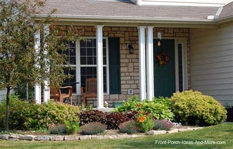 front porch landscape lewis center ohio front yard landscaping front porch designs