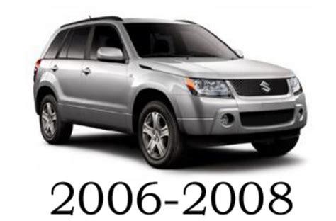 vehicle repair manual 2008 suzuki xl7 regenerative braking suzuki grand vitara 2006 2008 service repair manual download down