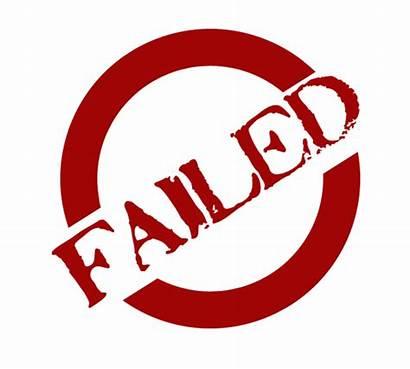 Transparent Fail Stamp Failed Clipart Failure Clip