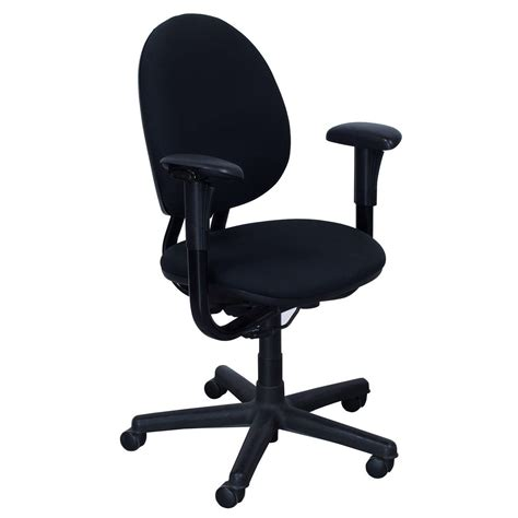 steelcase criterion used high back task chair black