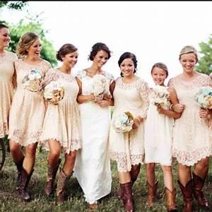 braidsmaid country fall wedding bridesmaid dresses with With country wedding bridesmaid dresses