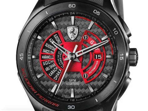 Car prices in india based on brand. Scuderia Ferrari Unveils Limited Edition Watch - DriveSpark