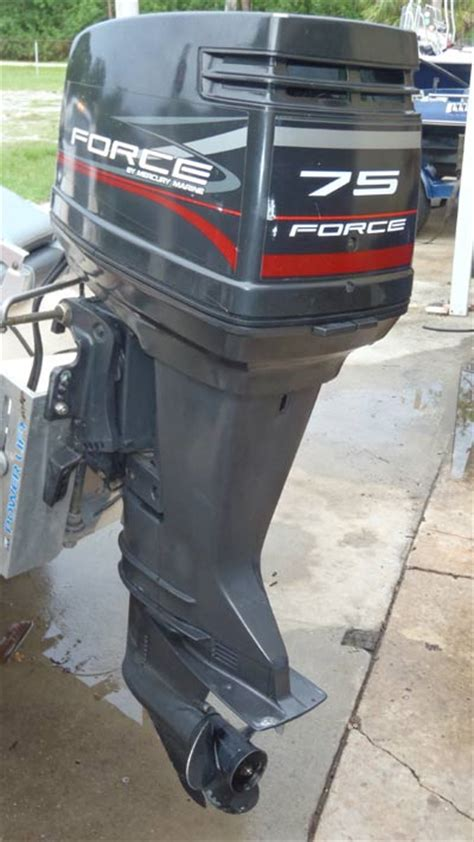 hp mercury force outboard