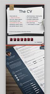 2020 Best Resume Templates 30 Best Photoshop Psd Resume Cv Templates Photo Formats
