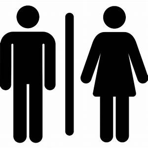 Toilet - Free people icons