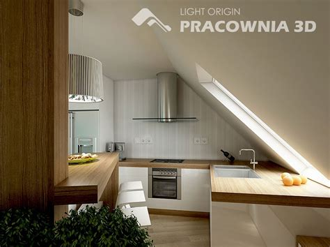 attic kitchen ideas and groovy small space apartment designs