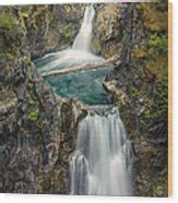 qualicum falls photograph  carrie cole