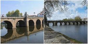The Roman Bridge in Chaves, also known as the Trajan's ...